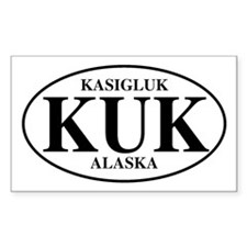 Kasigluk Rectangle Decal