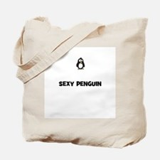 sexy penguin Tote Bag