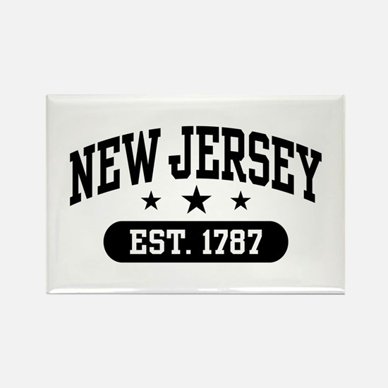New Jersey Est. 1787 Rectangle Magnet