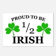 Proud to Be 1/2 Irish Postcards (Package of 8)