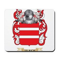 Ulrich Family Crest (Coat of Arms) Mousepad