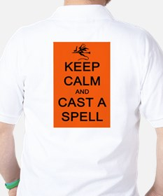 Keep Calm and Cast a Spell T-Shirt