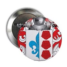 """Uren Family Crest (Coat of Arms) 2.25"""" Button"""