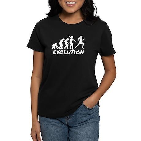 Runner Evolution Women's Dark T-Shirt