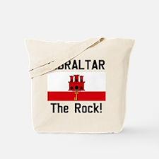 Gibraltar (Front and Back) Tote Bag
