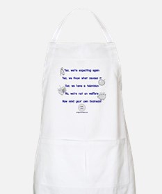 Large family replies BBQ Apron