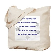 Large family replies Tote Bag