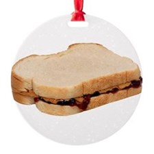 Peanut Butter and Jelly Sandwich Ornament
