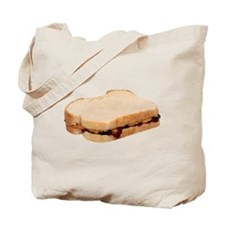 Peanut Butter and Jelly Sandwich Tote Bag