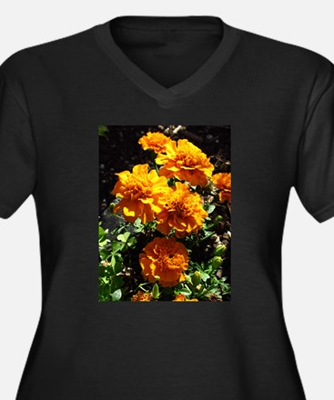 Autumn Marigolds Plus Size T-Shirt