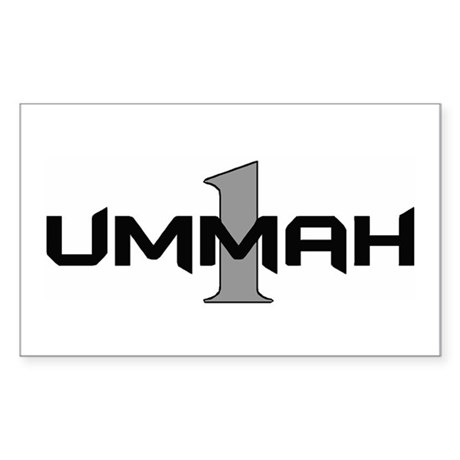One Ummah - Sticker (Rect.)