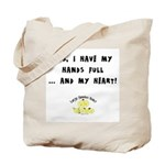 Full hands, full heart Tote Bag