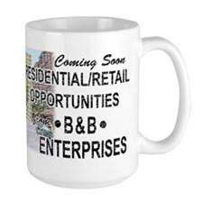 "The Wire ""B & B Enterprises"" Mugs"