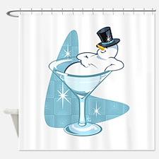 Snowmantini Shower Curtain