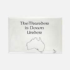 Thunder down under Magnets