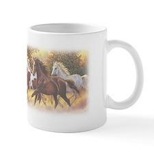 Running Free Horses Small Mug