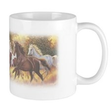 Running Free Horses Small Mugs