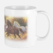 Running Free Horses Small Mugs