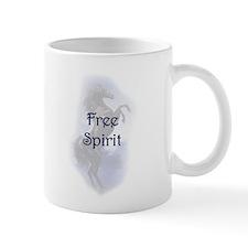 Free Spirit Blue Stallion Mug