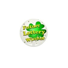 Cute Jackpot Mini Button