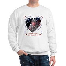 Welcome Home - Husband Sweatshirt