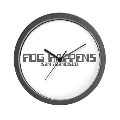 FOG HAPPENS Wall Clock