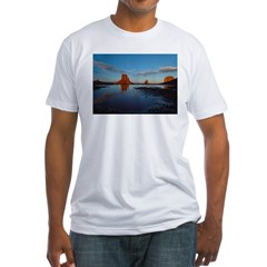 Desert Reflection Fitted T-Shirt