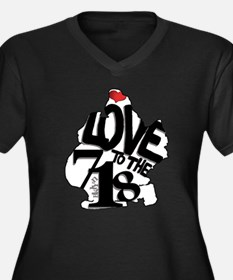 Love to the 718 (Brooklyn) Plus Size T-Shirt