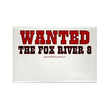 Fox River 8 Rectangle Magnet