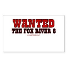 Fox River 8 Rectangle Decal