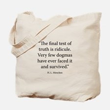 On Truth Tote Bag