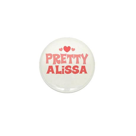 Alissa Mini Button