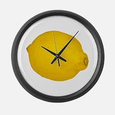 Lemon Large Wall Clock