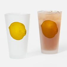 Lemon Drinking Glass