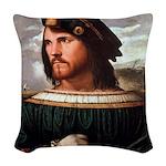 Cesare Borgia Woven Throw Pillow