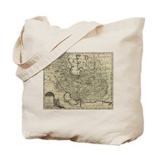 Persia Ancient Map 1747 Tote Bag