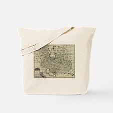 Persia Ancient Map 1747 Tote Bag