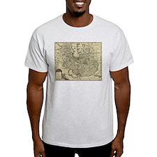 Persia Ancient Map 1747 T-Shirt