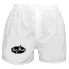 Butt Pirate (Decal Style) Boxer Shorts