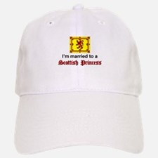 Married To A Scottish Princess Baseball Baseball Cap