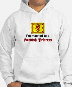 Married To A Scottish Princess Hoodie