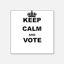 KEEP CALM AND VOTE Sticker