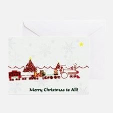 Christmas Train Holiday Cards(Pk of 10)