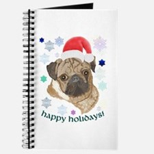 Santa Pug! Journal