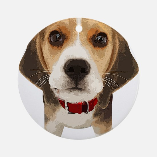 Beagle004 Ornament (Round)