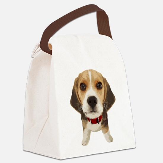 Beagle004 Canvas Lunch Bag