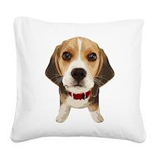 Beagle004 Square Canvas Pillow