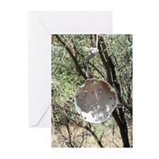 Target Practice Pan Greeting Cards (Pk of 10)