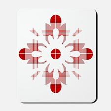 Tartan Snowflake Mousepad