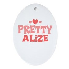 Alize Oval Ornament